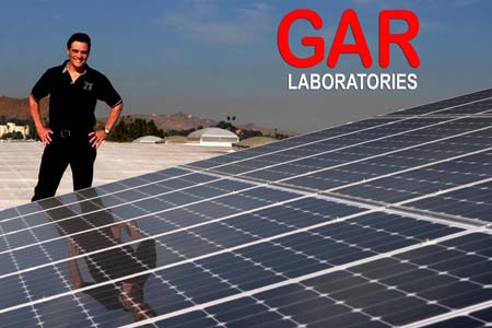 GAR Labs Solar Panels - Tom Raffy GAR Laboratories