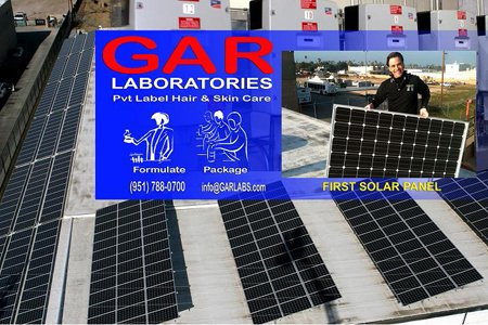 GAR Labs Solar Roof Panels and Inverters GAR Laboratories
